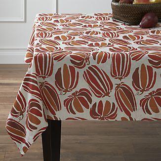 Pumpkin Patch Tablecloth I Crate And Barrel Table Cloth Crate