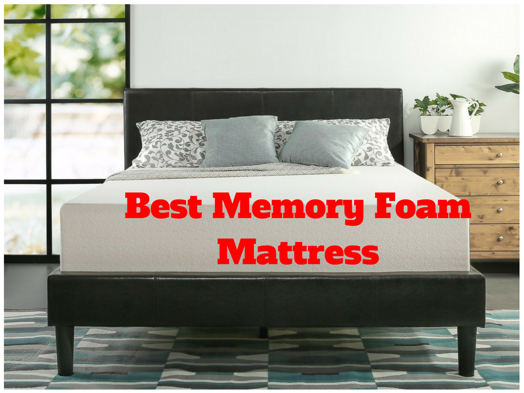 top 10 best memory foam mattress in 2017 reviews best memory foam