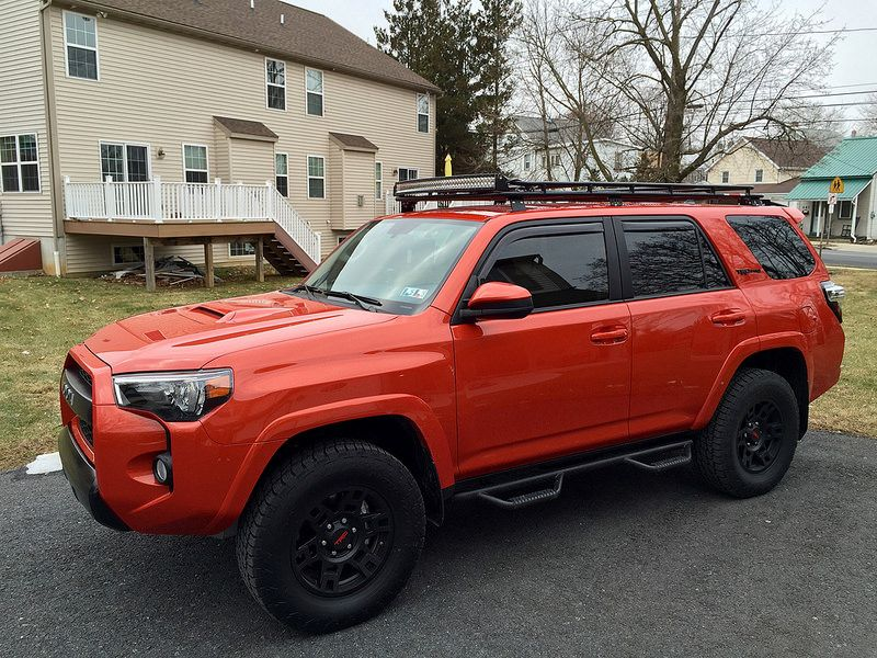 4runner Trd Pro Roof Rack With Ladder Google Search Toyota