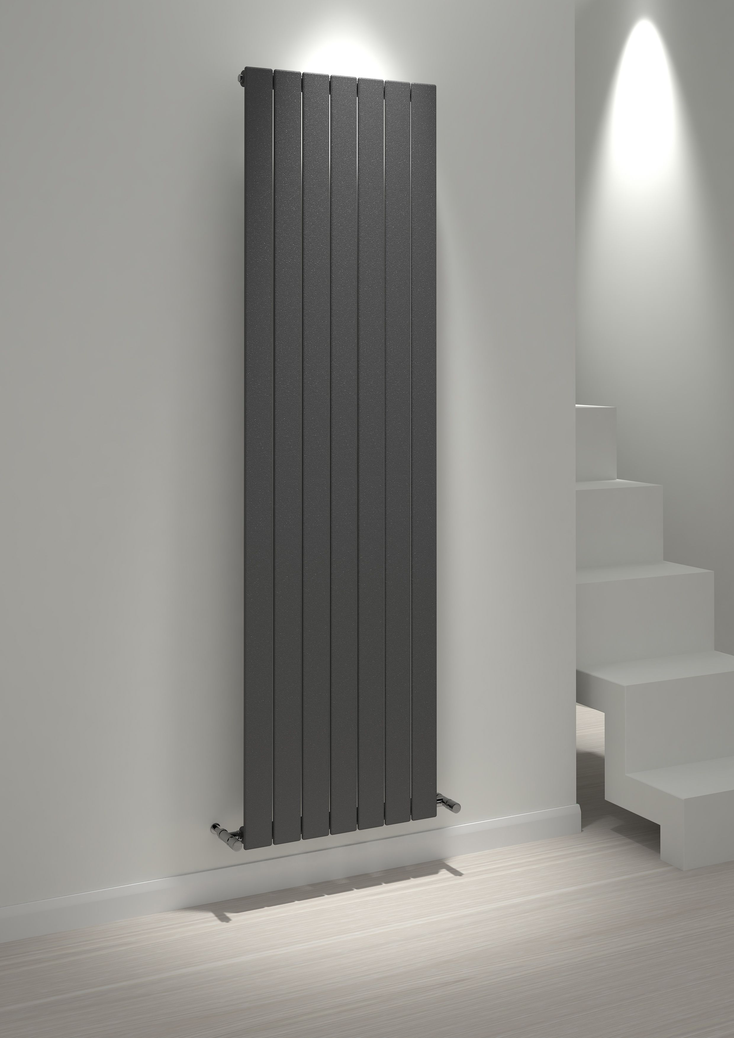 Kudox Alulite Vertical radiators, Central heating system