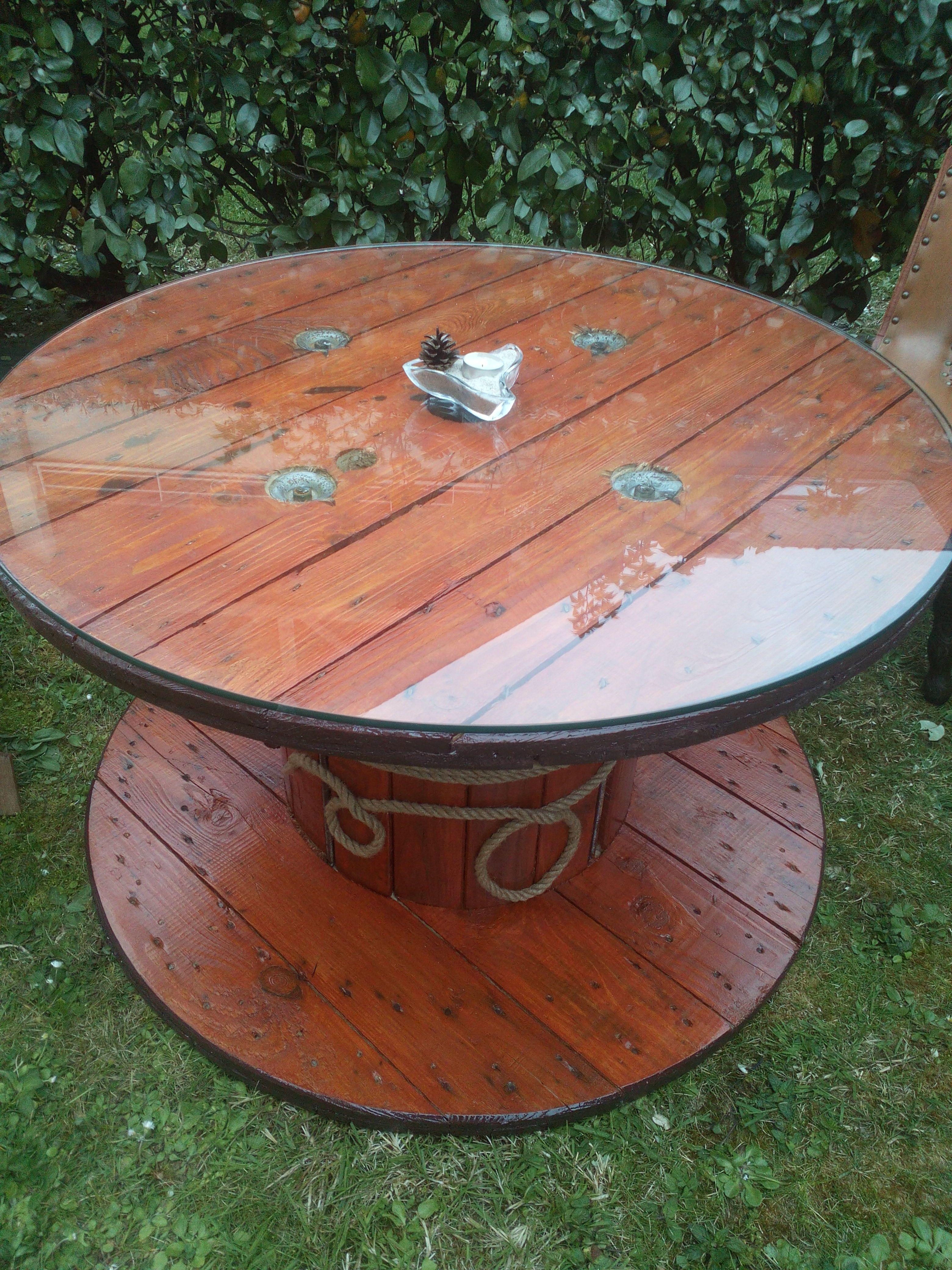 touret 2 r nov table basse r versible diy table de jardin diy perso pinterest touret. Black Bedroom Furniture Sets. Home Design Ideas