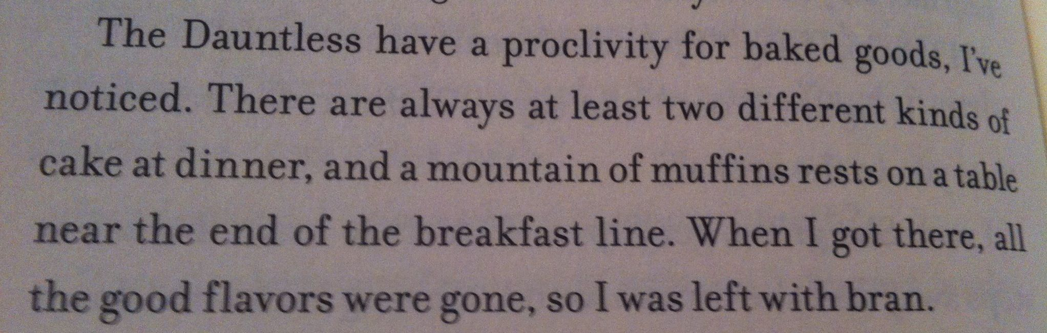FOUR: A DIVERGENT COLLECTION BY VERONICA ROTH ~ In which Dauntless muffins make a comeback.