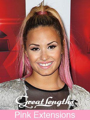 See Demi Lovato S New Pink Hair Pink Hair Demi Lovato Hair