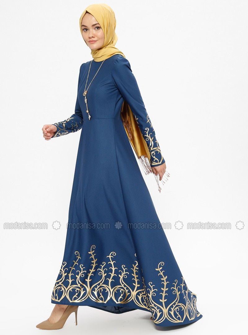 1359078b30c78 The perfect addition to any Muslimah outfit, shop AYŞE MELEK TASARIM's  stylish Muslim fashion Indigo