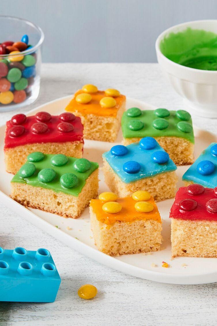 Legokuchen – einfaches Rezept ohne Fondant