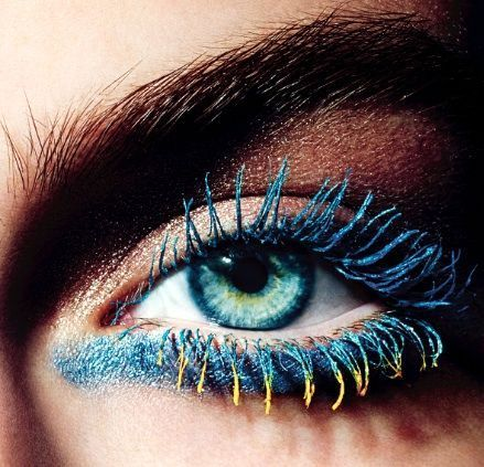 Coloured mascara! Would you try this?