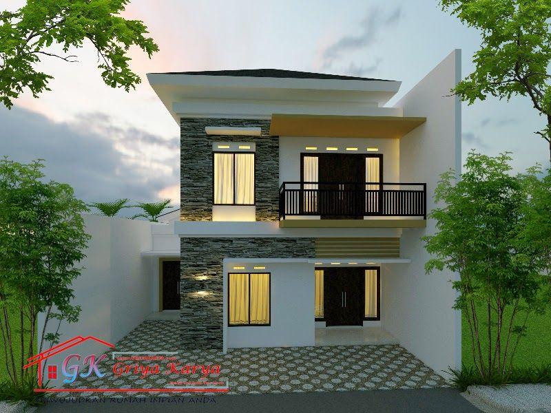 Desain Rumah Minimalis Halaman Luas Cek Bahan Bangunan
