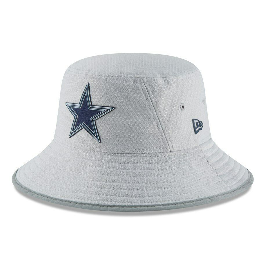 39f2d0d281ac83 DALLAS COWBOYS 2018 NFL NEW ERA OFFICIAL ON FIELD TRAINING CAMP BUCKET HAT  $32