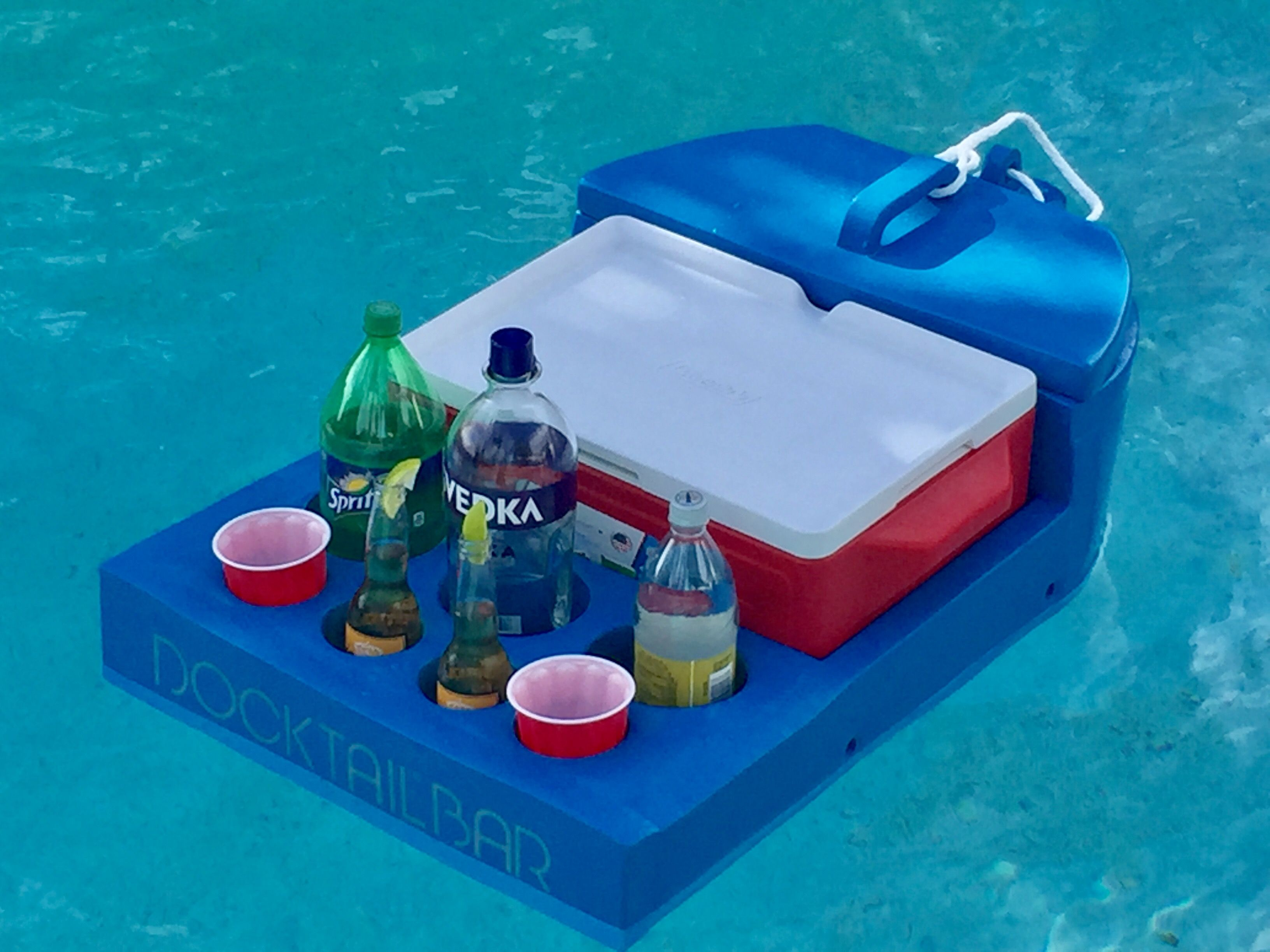 Docktail Floating Bar Gifts for Boaters Pinterest