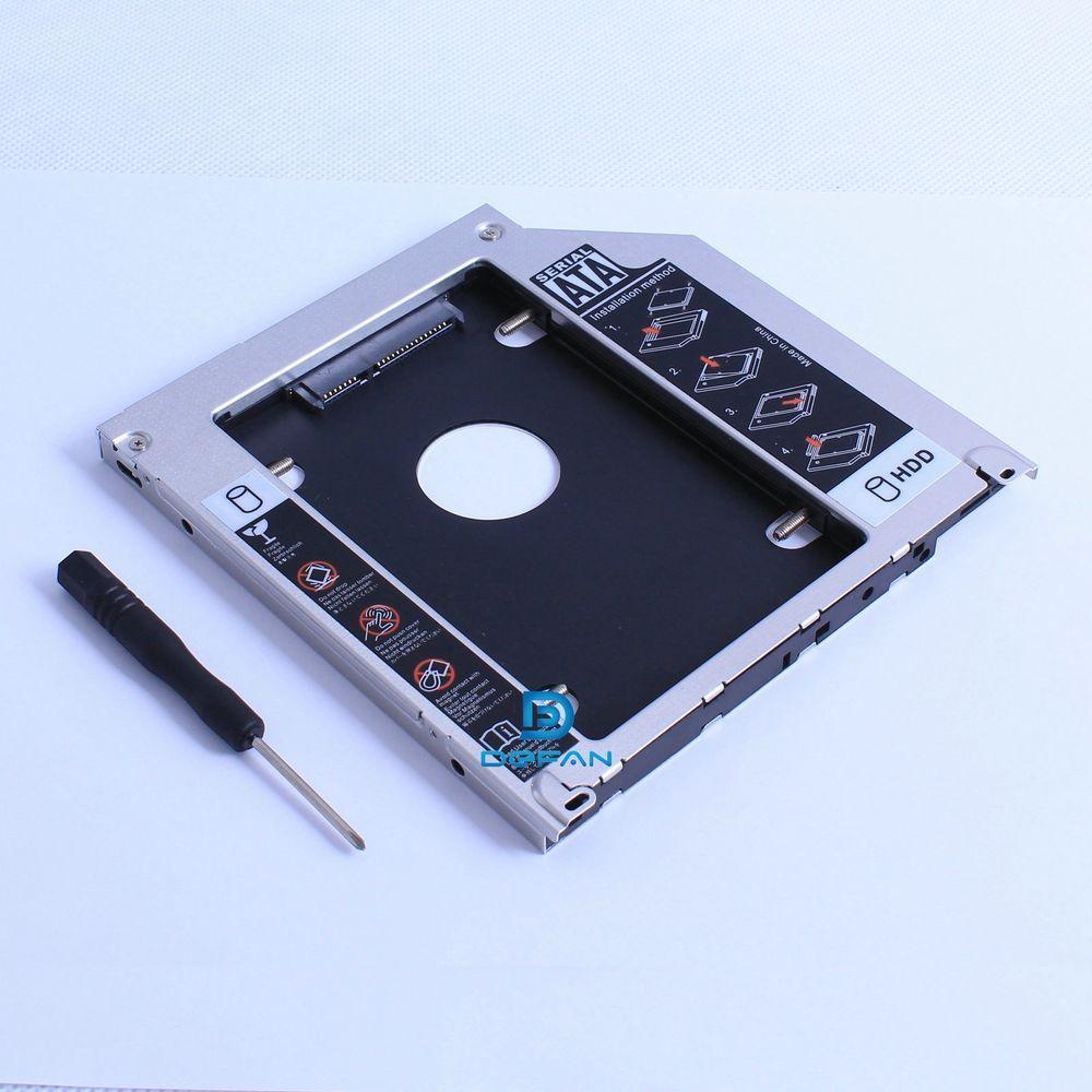 Apple Macbook Pro Unibody 2nd HDD SSD SATA bay hard drive caddy opti superdrive