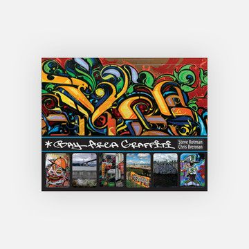 Bay Area Graffiti by Steve Rotman  the book's images showcase innovative art made all over the Bay Area, as well as how it blends into the region's stunning landscapes