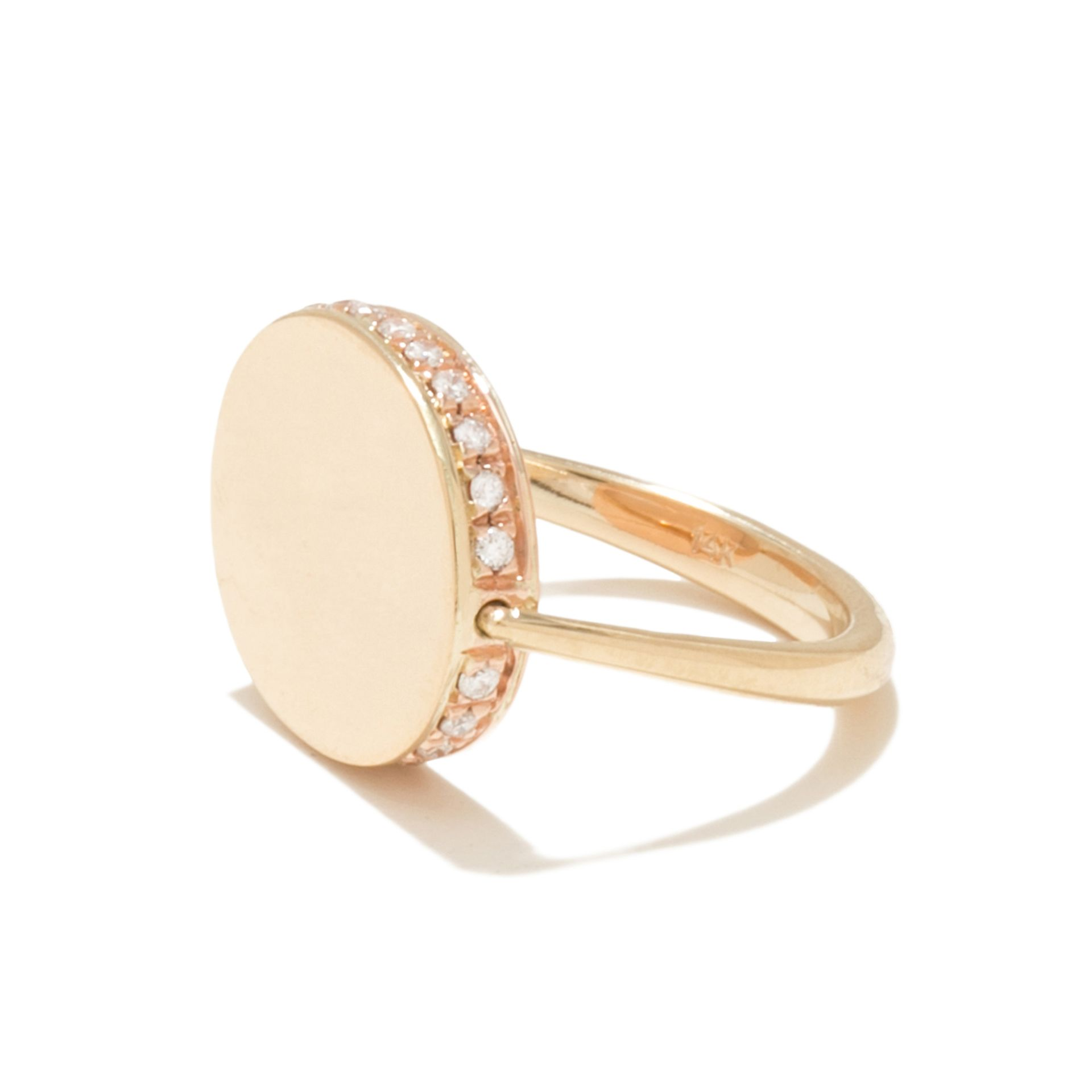 <p>This glowing ring hides a special surprise —a swiveling face. Ancient Egyptian and Phoenician ...