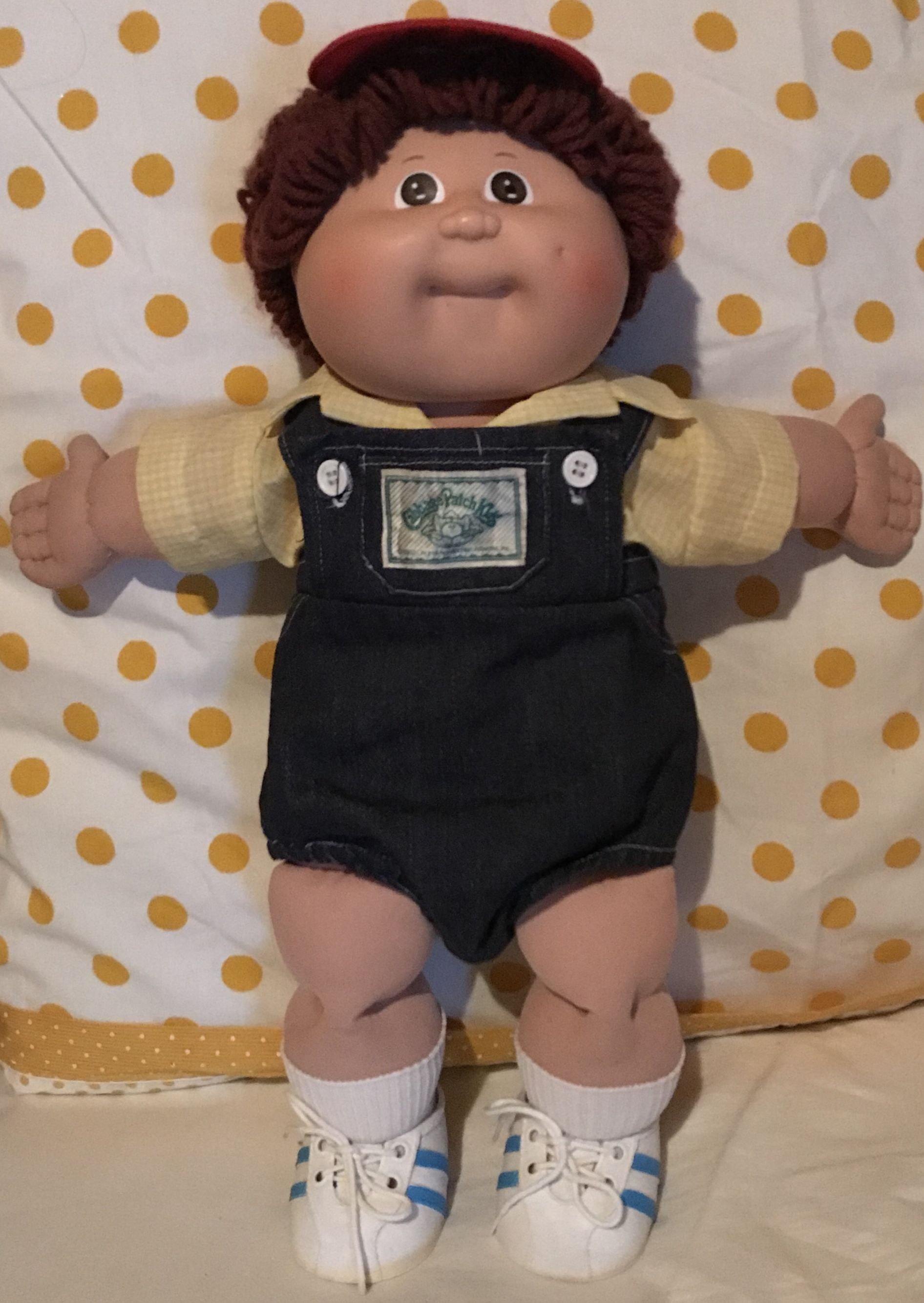 Vintage Cabbage Patch Kids Doll 1984 Hm 3 P Factory Auburn Hair Brown Eyed Boy Vintage Cabbage Patch Dolls Cabbage Patch Kids Boy Cabbage Patch Kids Dolls