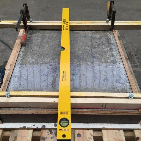 Arbeitsplatten aus Beton DIY - Bigmeatlove tisch Pinterest - k chenarbeitsplatten aus beton