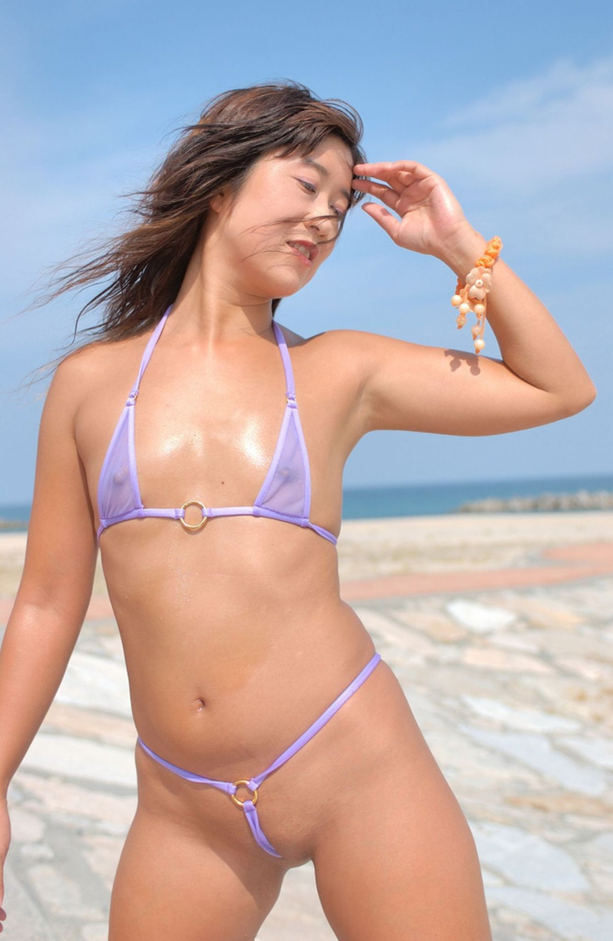 Micro string bikini bathing suits