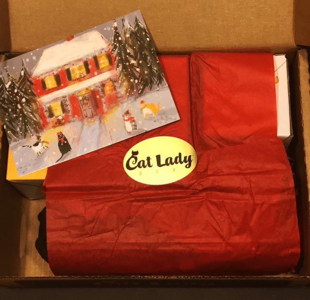 Cat Lady Box December Unboxing