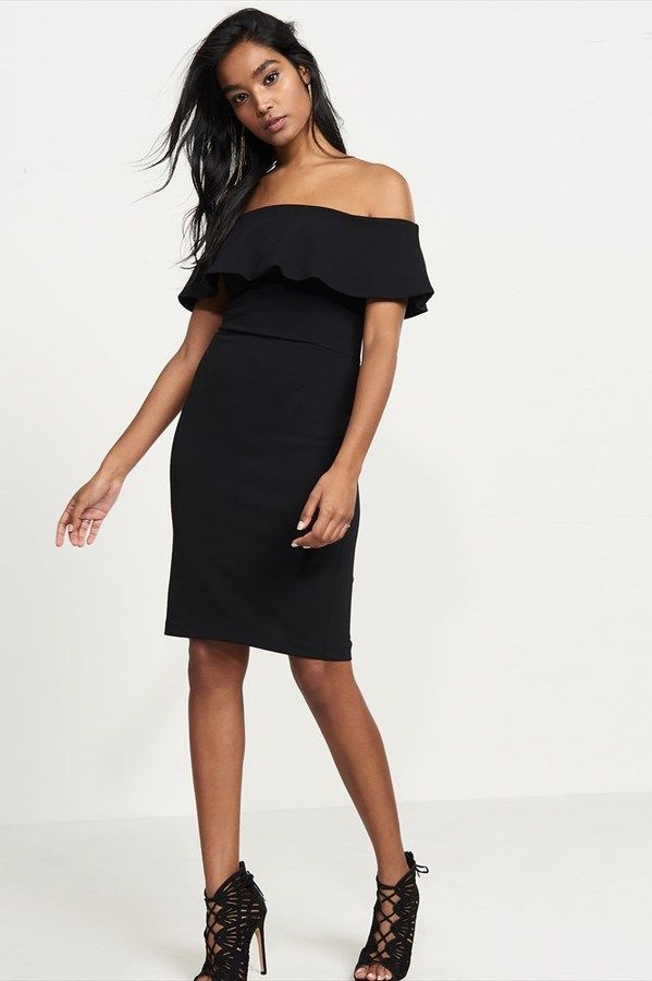 89ae83830a Dynamite Off-The-Shoulder Dress with Ruffles