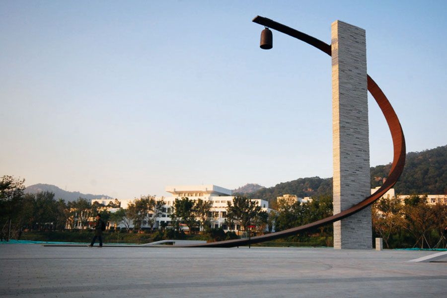 Robert Silman Associates – Shantou University, Bell Tower