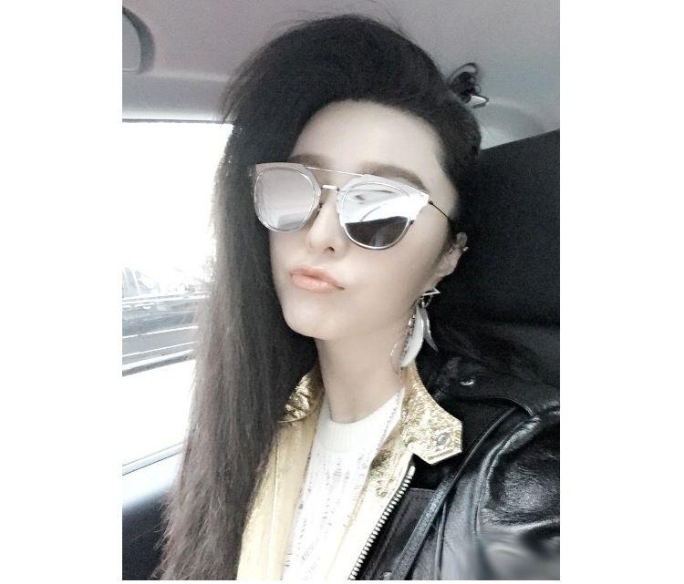 dernière lunettes en la avec fan soleil mode bingbing de 2015 xgqOwYapw