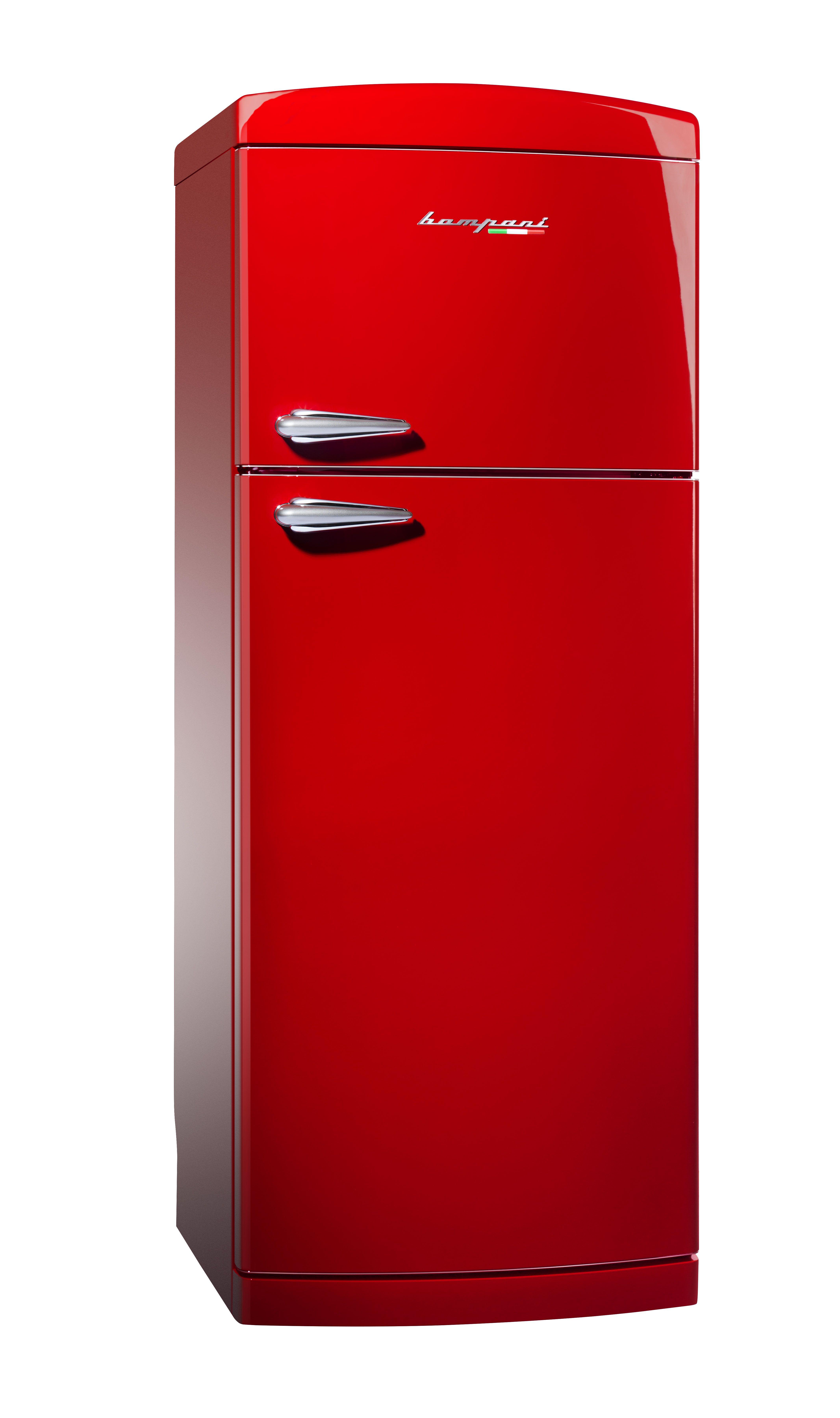 in arrivo il nuovo frigo doppia porta retr 70cm no frost rosso bodp740 r solo da bompani. Black Bedroom Furniture Sets. Home Design Ideas