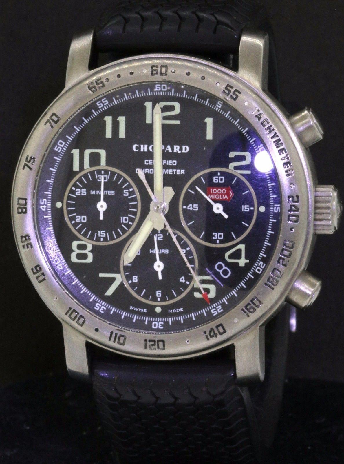 Chopard 1000 Miglia 8915 Titanium automatic chronograph ...