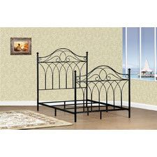Shay Metal Panel Bed