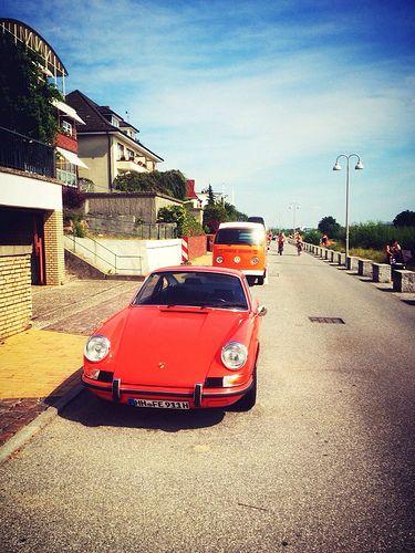 Treffen unter Klassikern: VW und Porsche #gesichtet