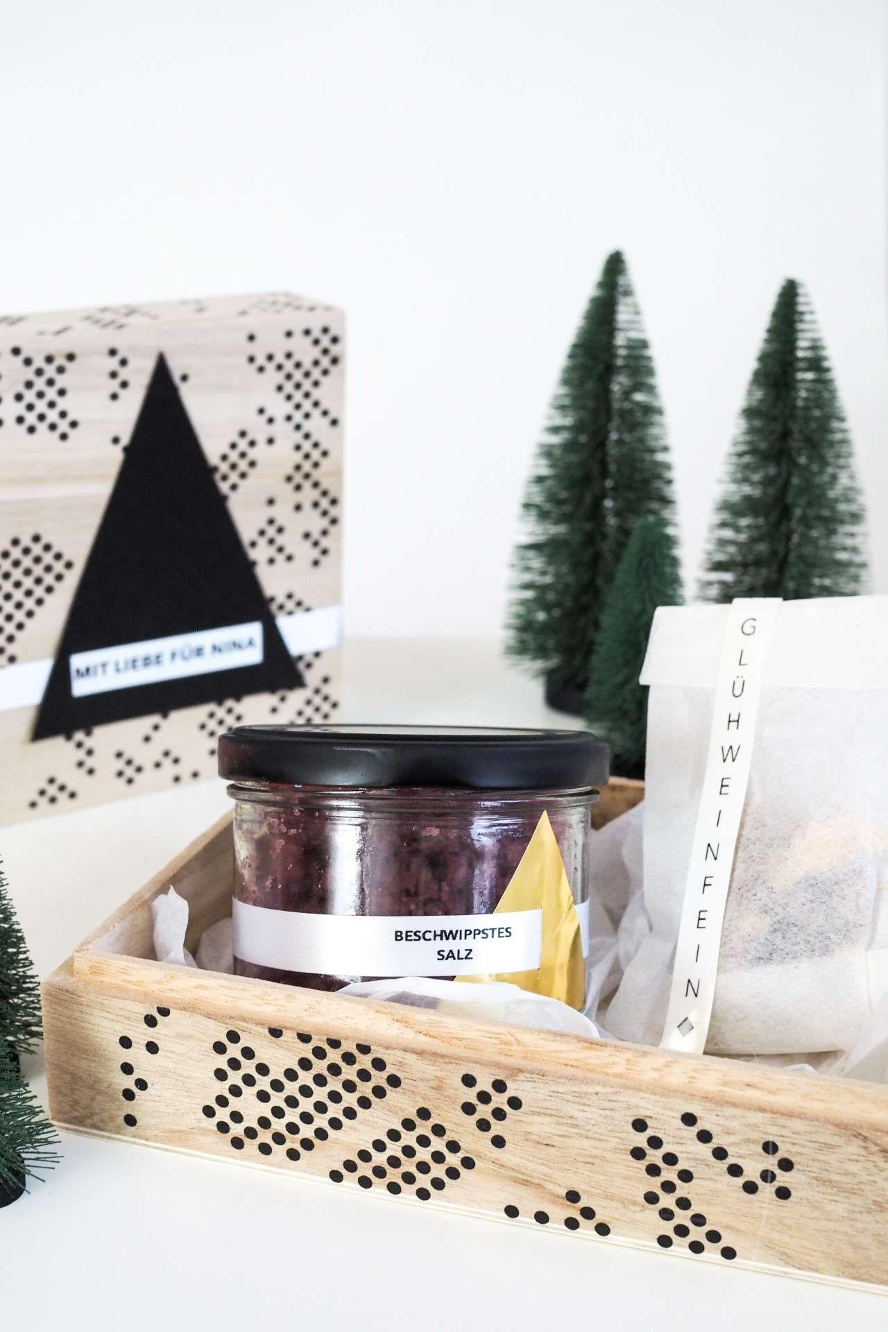 Selbstgemachte Geschenke aus der Küche wunderschön verpackt | Winter ...