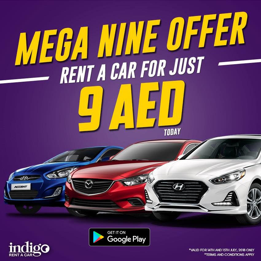 Renting A Car In Dubai Is Made Easy By Using Indigo Rent A Car App