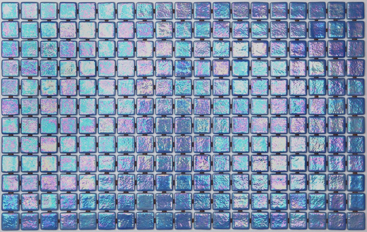 25mm Iris Ocean Glass Mosaic | Mosaics, Tile stores and Glass