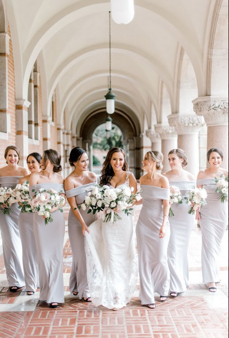 ef0afc65819 Instant Classic  Katie May Legacy in Dove  BellaCharlotte  bellabridesmaids   katiemay  crepebridesmaidsdress  graybridesmaidsdresses   greybridesmaidsdresses