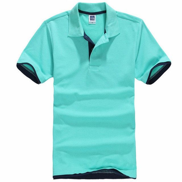 7fec3a345e6 Plus Size XS-3XL Brand New Men s Polo Shirt Men Cotton Short Sleeve shirt  Brands jerseys Mens Shirts polo shirts Tops Type  Polos Gender  Men Style   Fashion ...