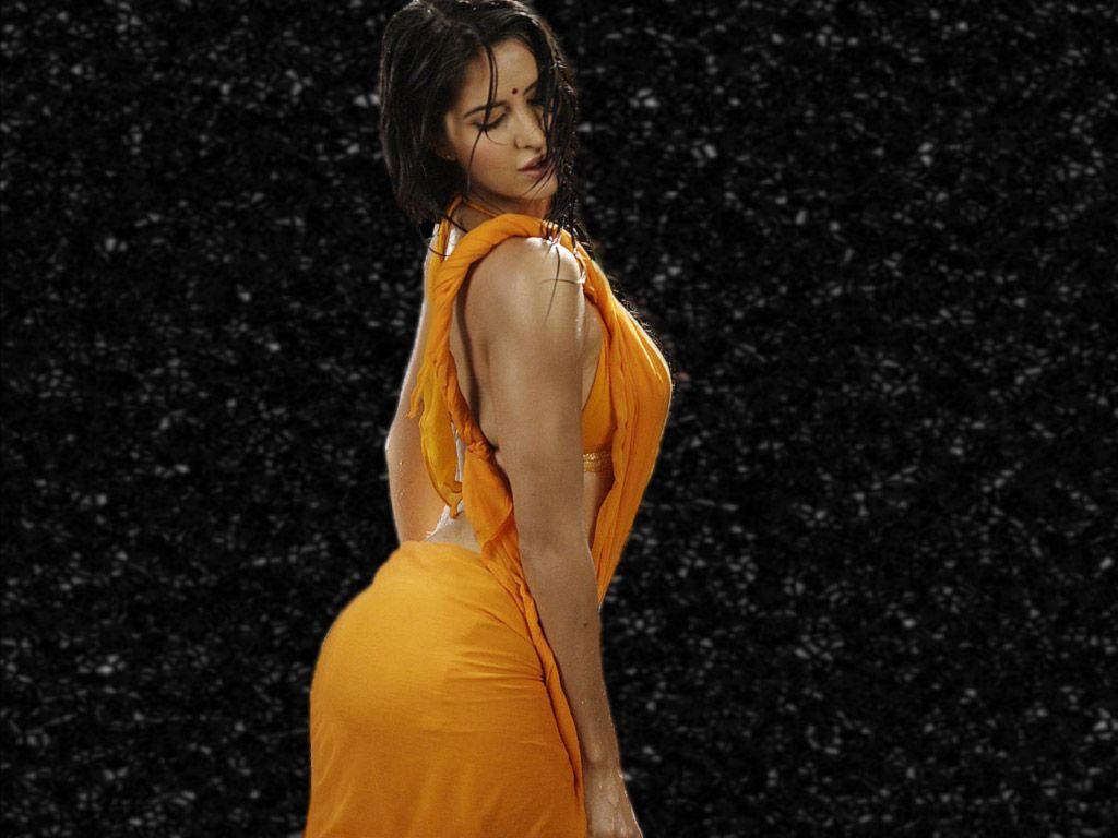 cool Katrina Kaif Hot Wallpapers In a Yellow Saree ...