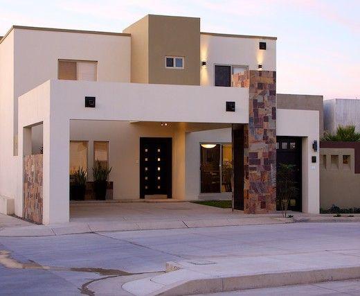 Fachadas de piedra modernas buscar con google fachadas - Casas con chimeneas modernas ...