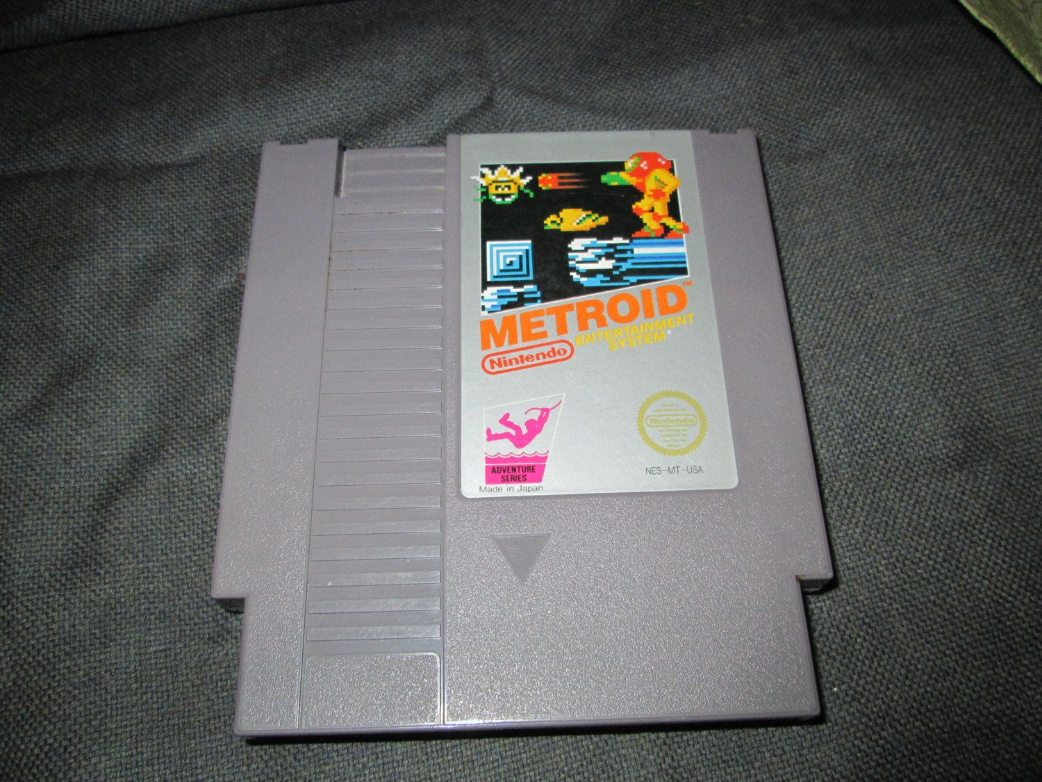 Nintendo Video Game - Metroid, NES  in Good, Used, Vintage Condition. Classic, Retro, Original NES game cartridge. by FriendsRetro on Etsy