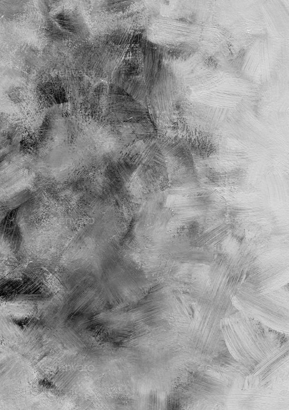 Black And White Brush Stroke Textured Background Free Image By