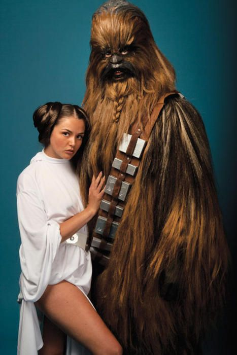 Chewbacca Star Wars Porn - is this from a star wars porn parody or what?