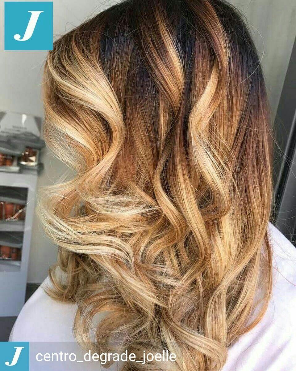 Un haircolour esclusivo _ Degradé Joelle #cdj # ...