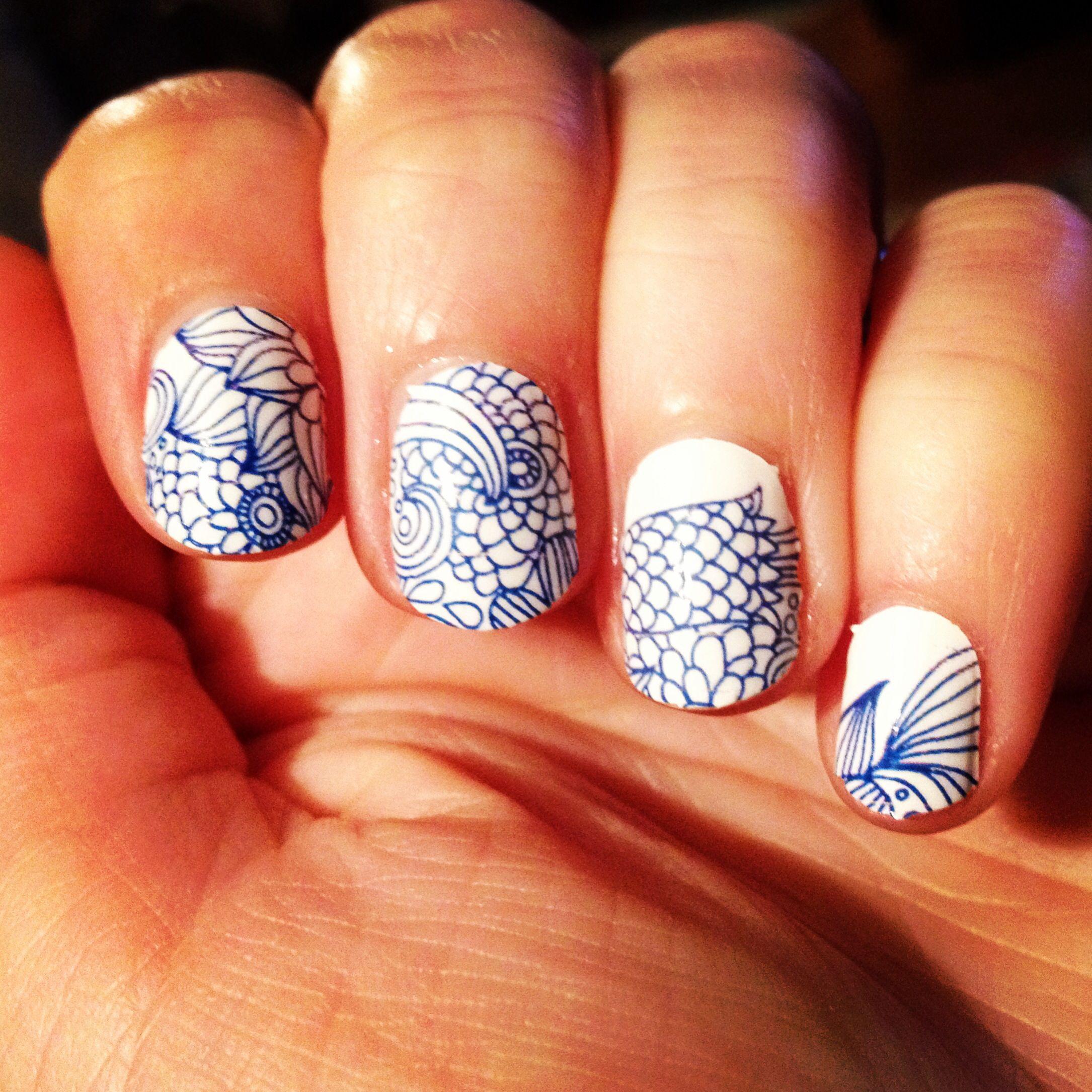 Sally Hansen Salon Effects in Empress-Ive   My Nails   Pinterest ...