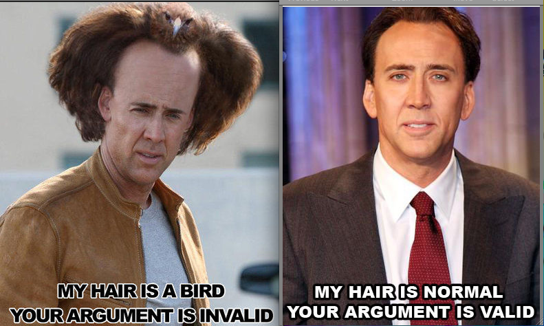 nick cage?