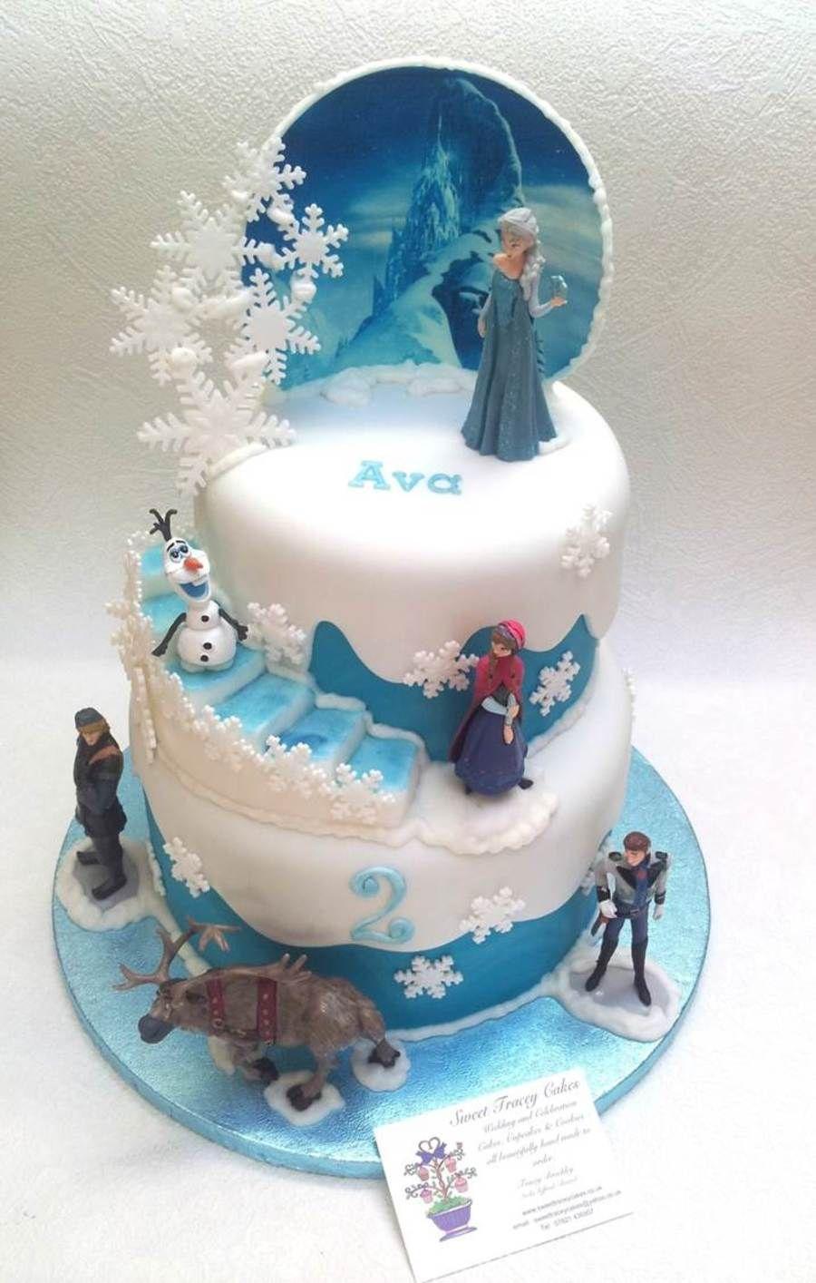 Frozen Birthday Cake Frozen Cakes Pinterest Frozen Birthday