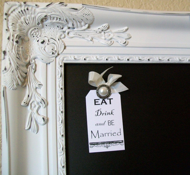 Elegant wedding seating chart wedding menu board 42x30 extra large elegant wedding seating chart wedding menu board 42x30 extra large baroque ornate vintage frame jeuxipadfo Image collections