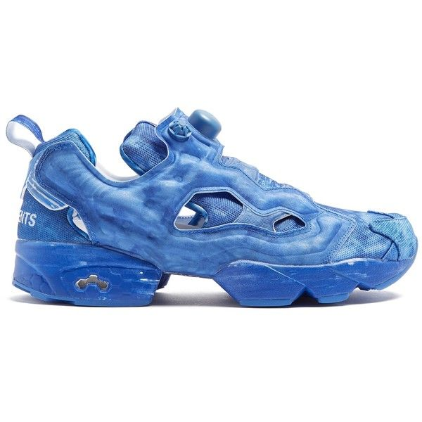f939851f72e Inject colour into your outfit with Vetements s bold cobalt-blue canvas and  neoprene X Reebok