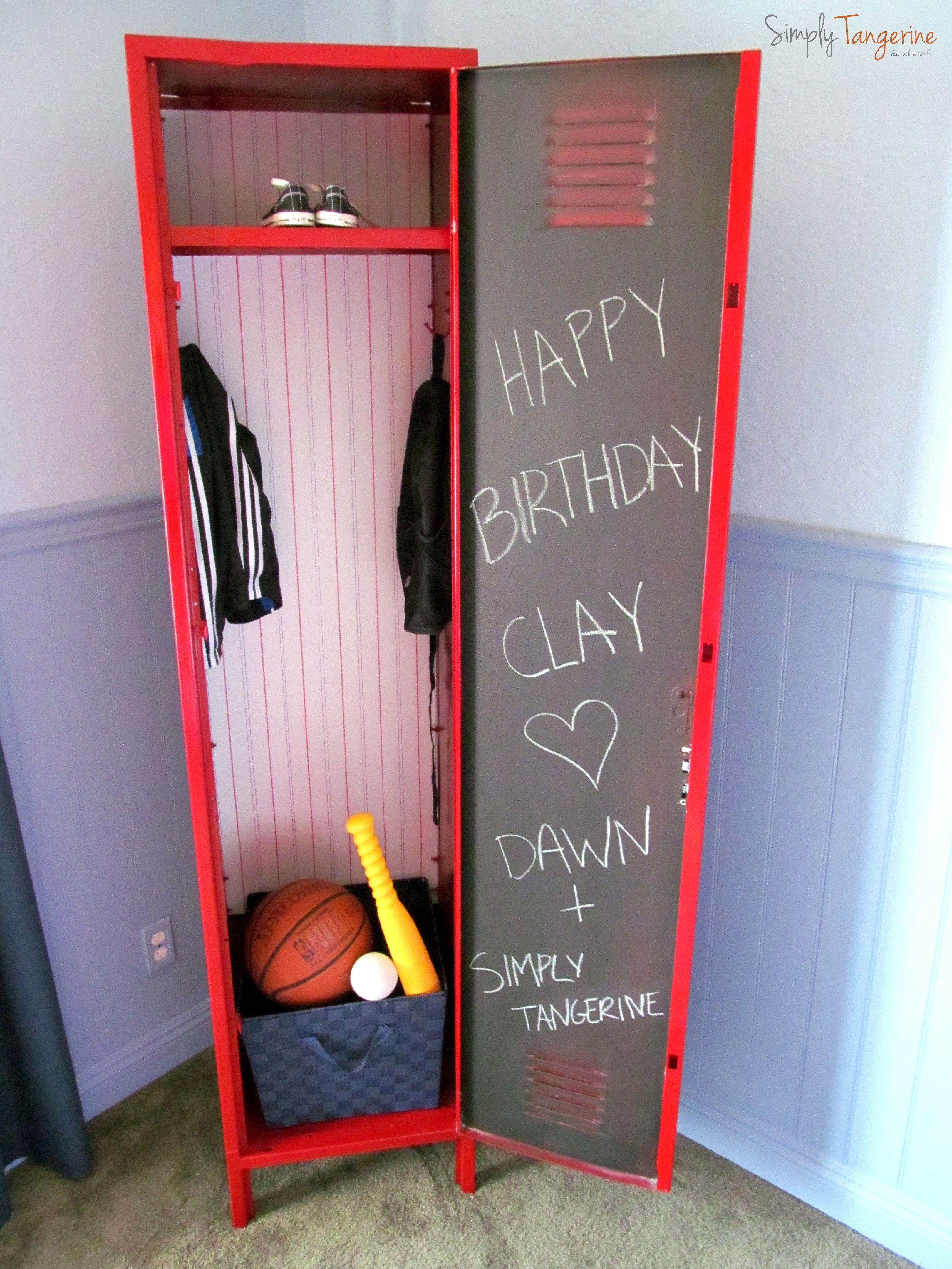 An All Star Locker - Adventures In Painting Metal | Projects to ...