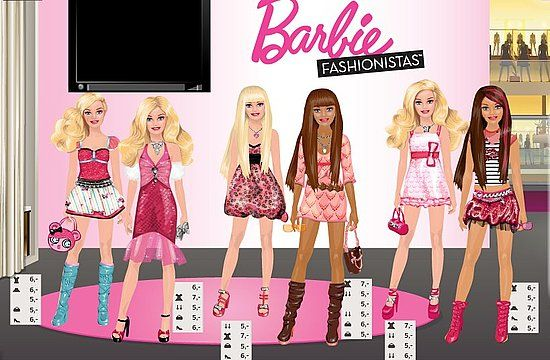 Barbie fashion games for girl 32