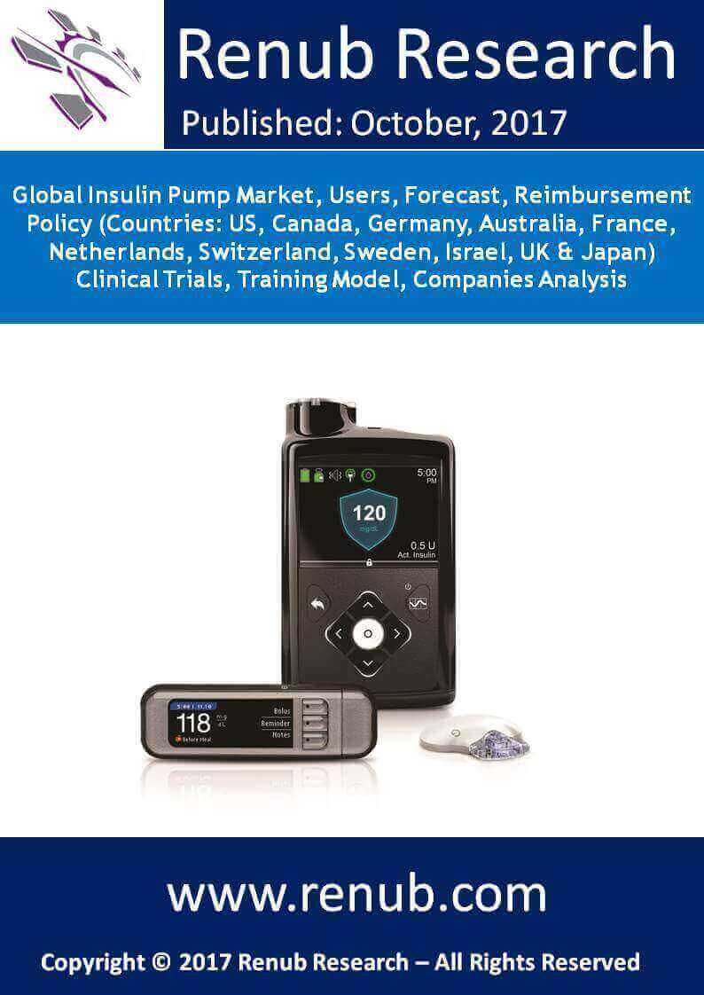 By the year 2024, global insulin pump market is expected to