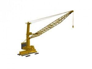 The port crane LIEBHERR LHM600