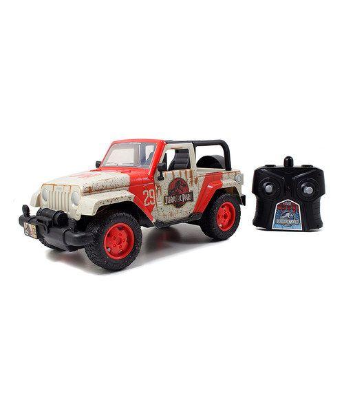 Jurassic World Jeep Wrangler Remote Control Car Jeep Wrangler