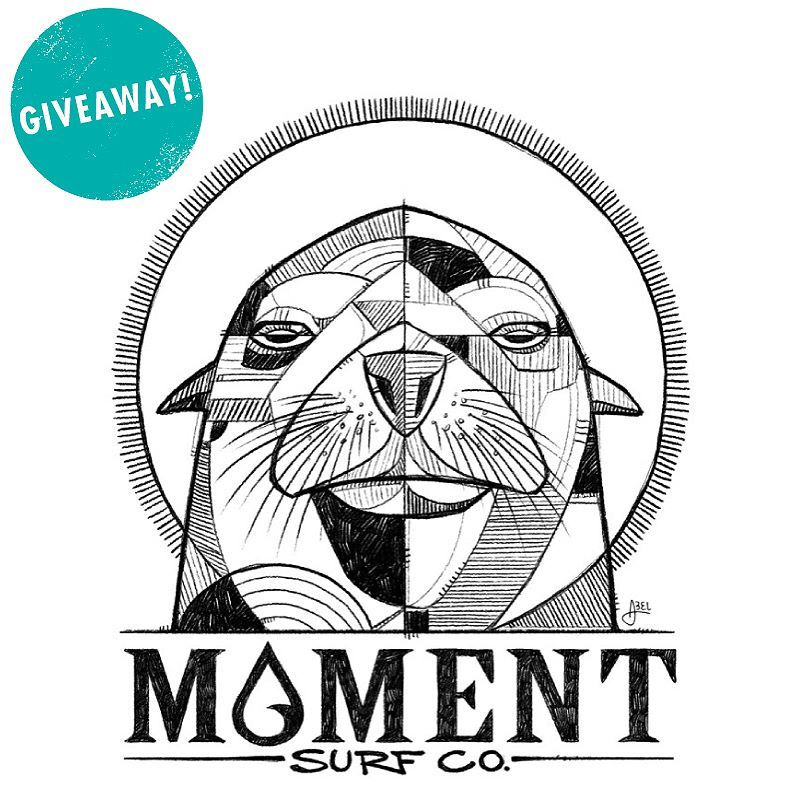 GIVEAWAY: The PNW Artist series collab with @momentsurfco just dropped and we're doing a little giveaway to celebrate my Sealion graphic. Swipe right to check out the goods you can win.  TO ENTER:  1) Must follow @abelarts and @momentsurfco 2) Tag 1 person who might like this in a comment below. 1 entry per person purty please.  3) A random winner gets picked Saturday April 7 at 3pm Pacific time.  Good luck!  #abelgiveaway