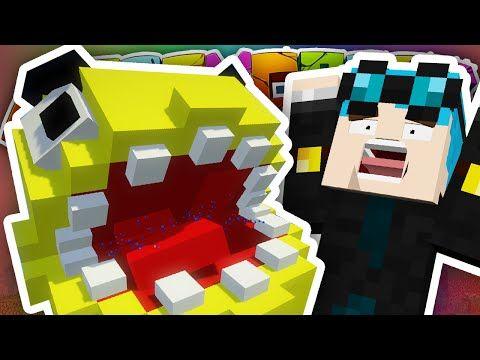 The Diamond Minecart Minecraft New House Pacman Attack
